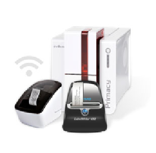 badge printers all brands