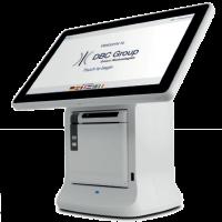 kiosk, Badge printer