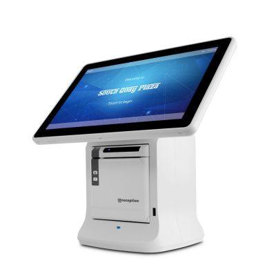 Visitor registration console, visitor sign, branding, visitor management, visitor management system, reception, branding